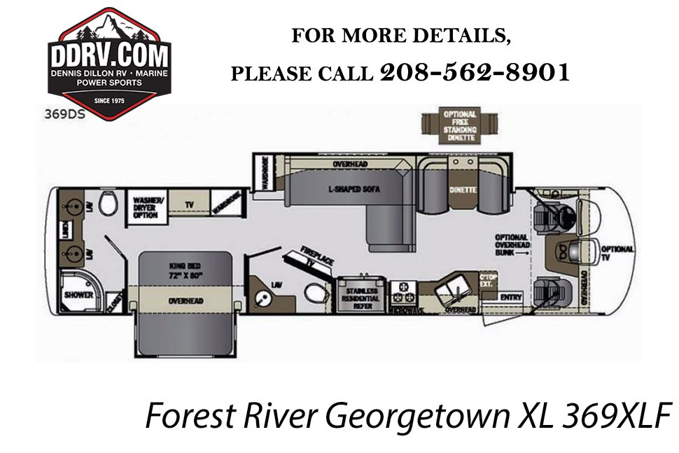 new 2019 forest river georgetown xl 369ds Typical RV Wiring Diagram