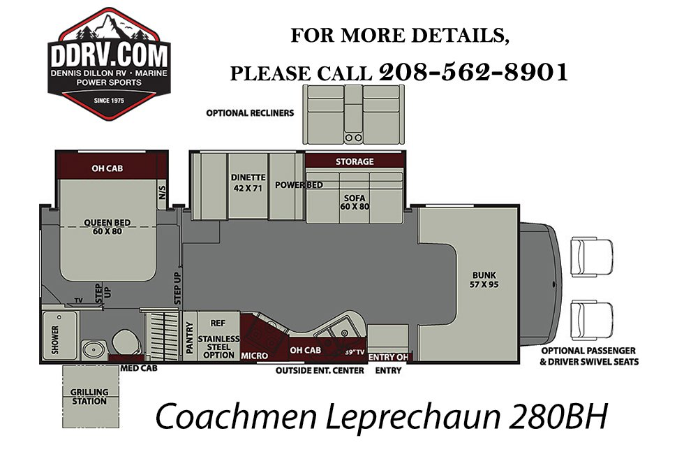 New 2019 COACHMEN LEPRECHAUN 280BH MH in Boise #RK072 | Dennis ... Lephracon Coachmen Rv Wiring Diagrams on