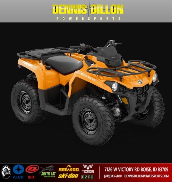 New 2020 CAN-AM OUTLANDER 450 DPS
