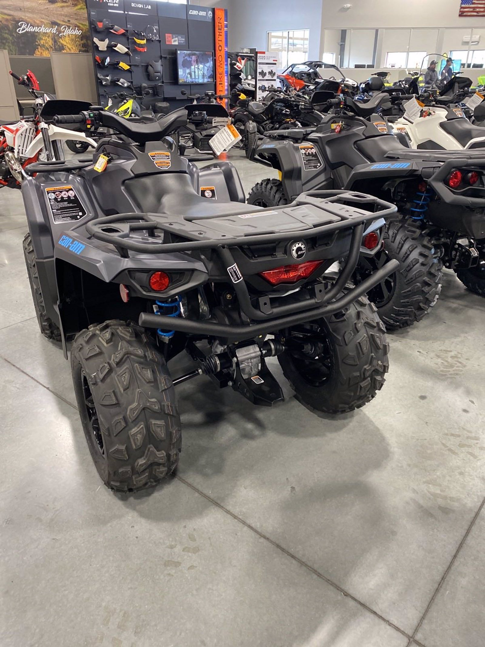 New 2020 CAN-AM OUTLANDER XT 570