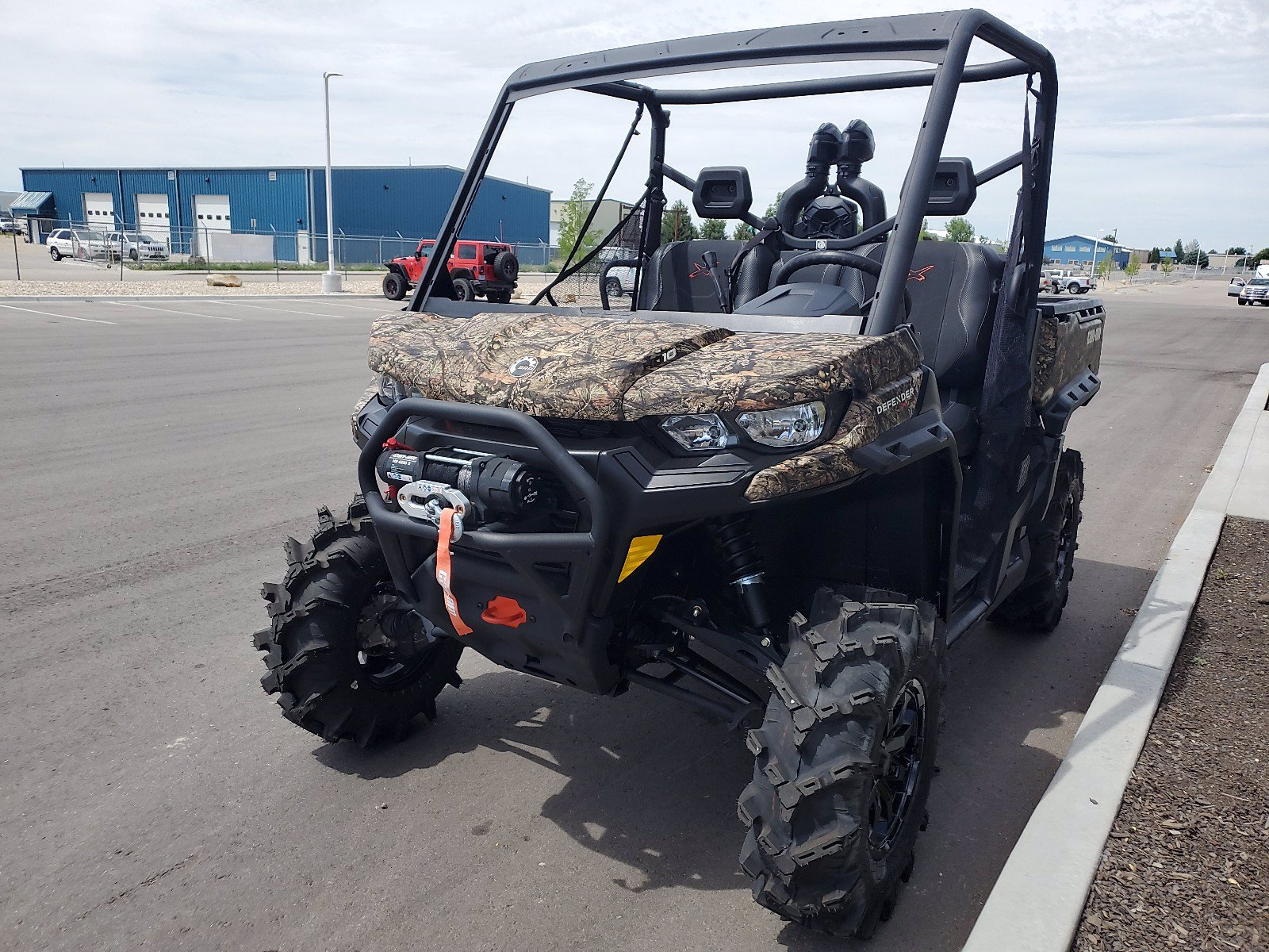 New 2020 CAN-AM DEFENDER XMR HD10