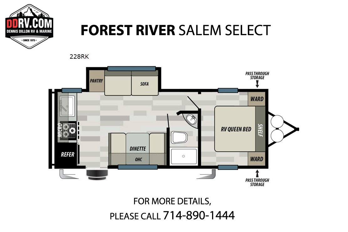 New 2020 FOREST RIVER SALEM SELECT 228RK