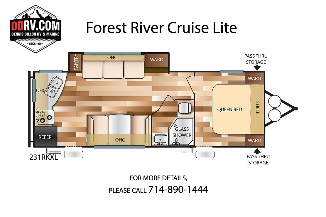 New 2020 FOREST RIVER CRUISE LITE 231RKXL