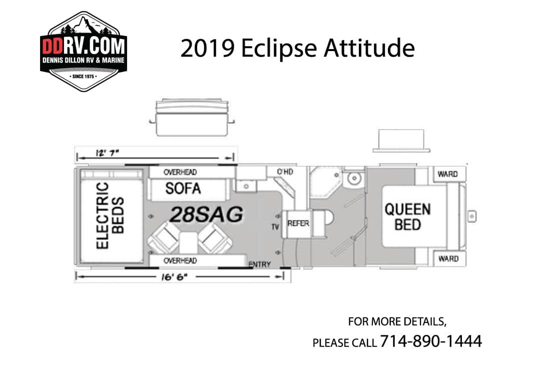 Elz Overhead Door Wiring Diagram Electrical Diagrams New 2019 Eclipse Attitude 28sag Cch In Boise Lk071 Dennis Dillon