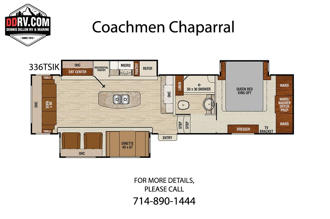 New 2020 COACHMEN CHAPARRAL 336TSIK