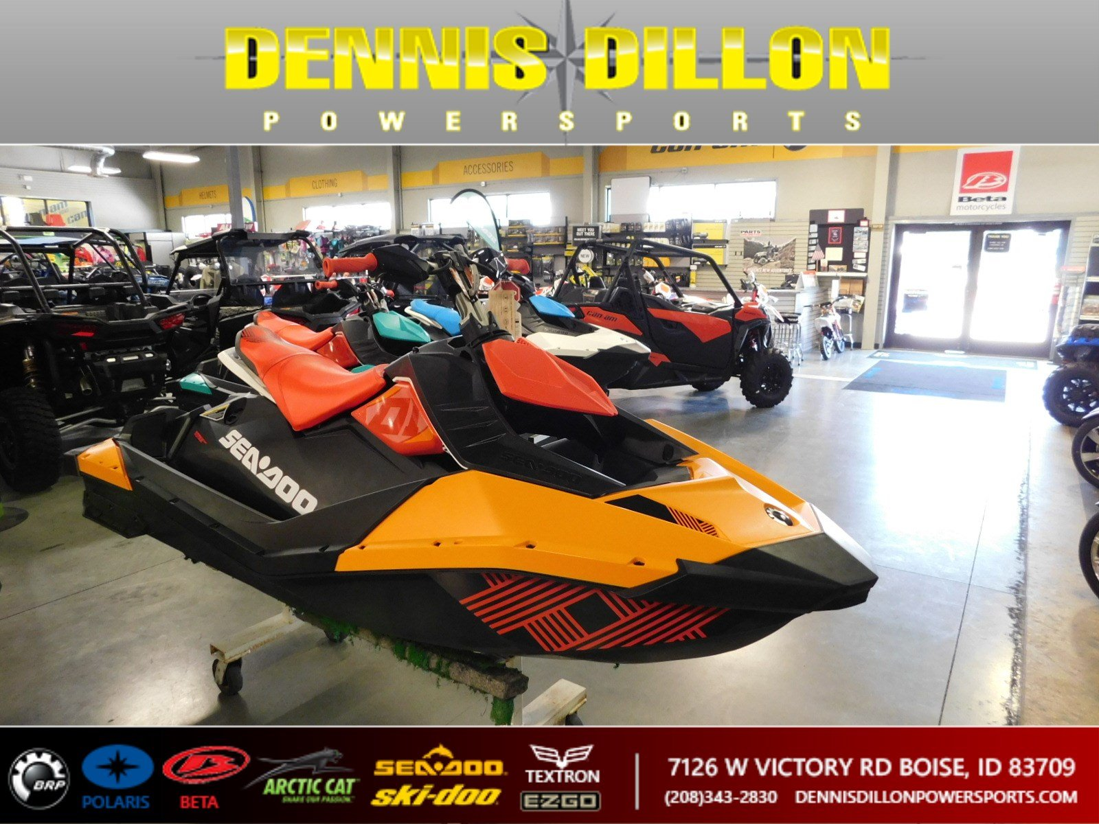 New 2018 SEA-DOO SPARK 2UP 900HO/IBR/TRIXX