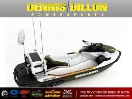 New 2019 SEA DOO FISH PRO 155 W/NG